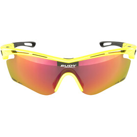 Rudy Project Tralyx Lunettes, yellow fluo gloss - rp optics multilaser orange